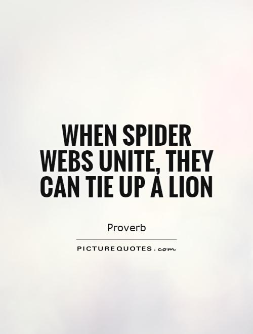 when-spider-webs-unite-they-can-tie-up-a-lion-quote-1