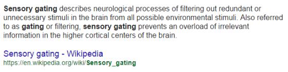 sensorygating